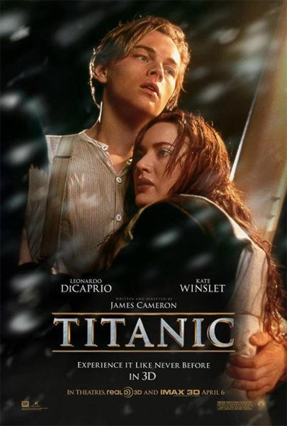 locandina poster titanic 3d recensione foto
