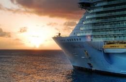 cruise ship photo at sea oas