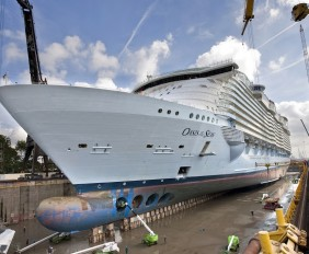 oasis of the seas dry dock (3)