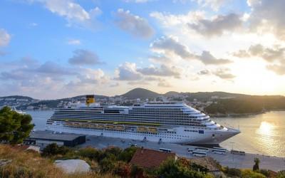 Croatia The new Costa Crociere flagship 'Costa Diadema'