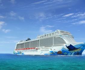 ncl escape rendering cruise ship
