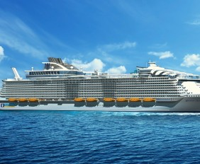 Exterior with Name harmony of the seas