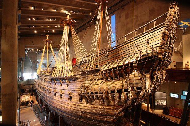 La Nave Vasa a Stoccolma