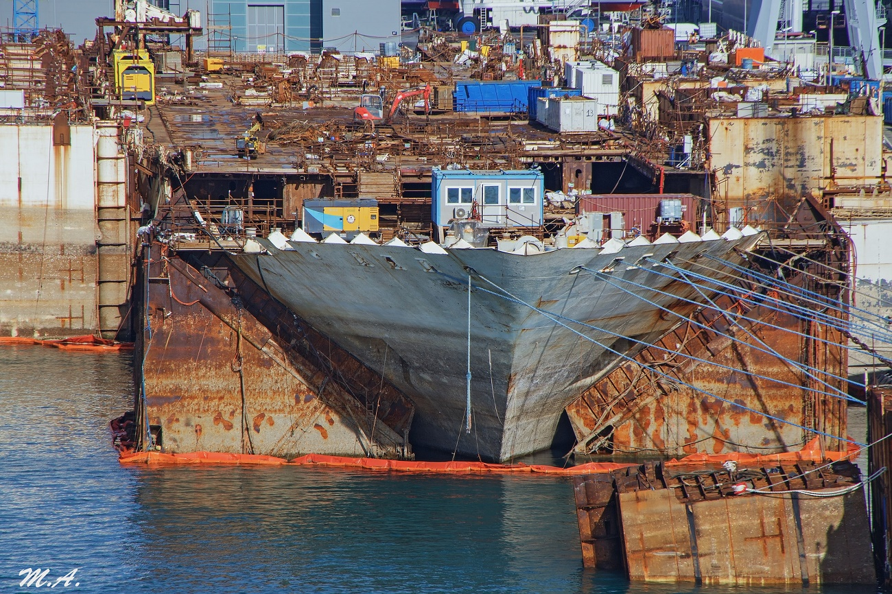 Costa Concordia, le ultime miglia per ultimare la demolizione