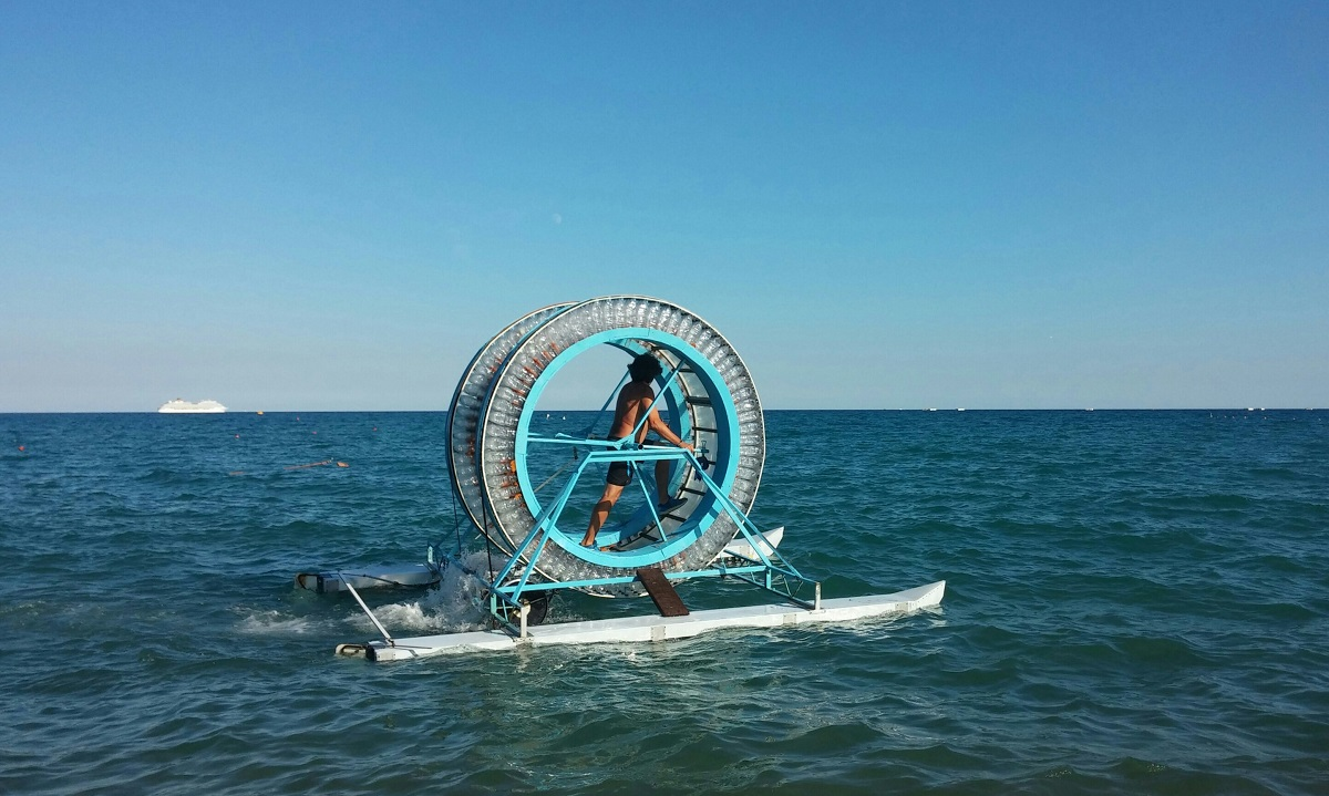 Vittorio Schincaglia, pazzo per il mare.
