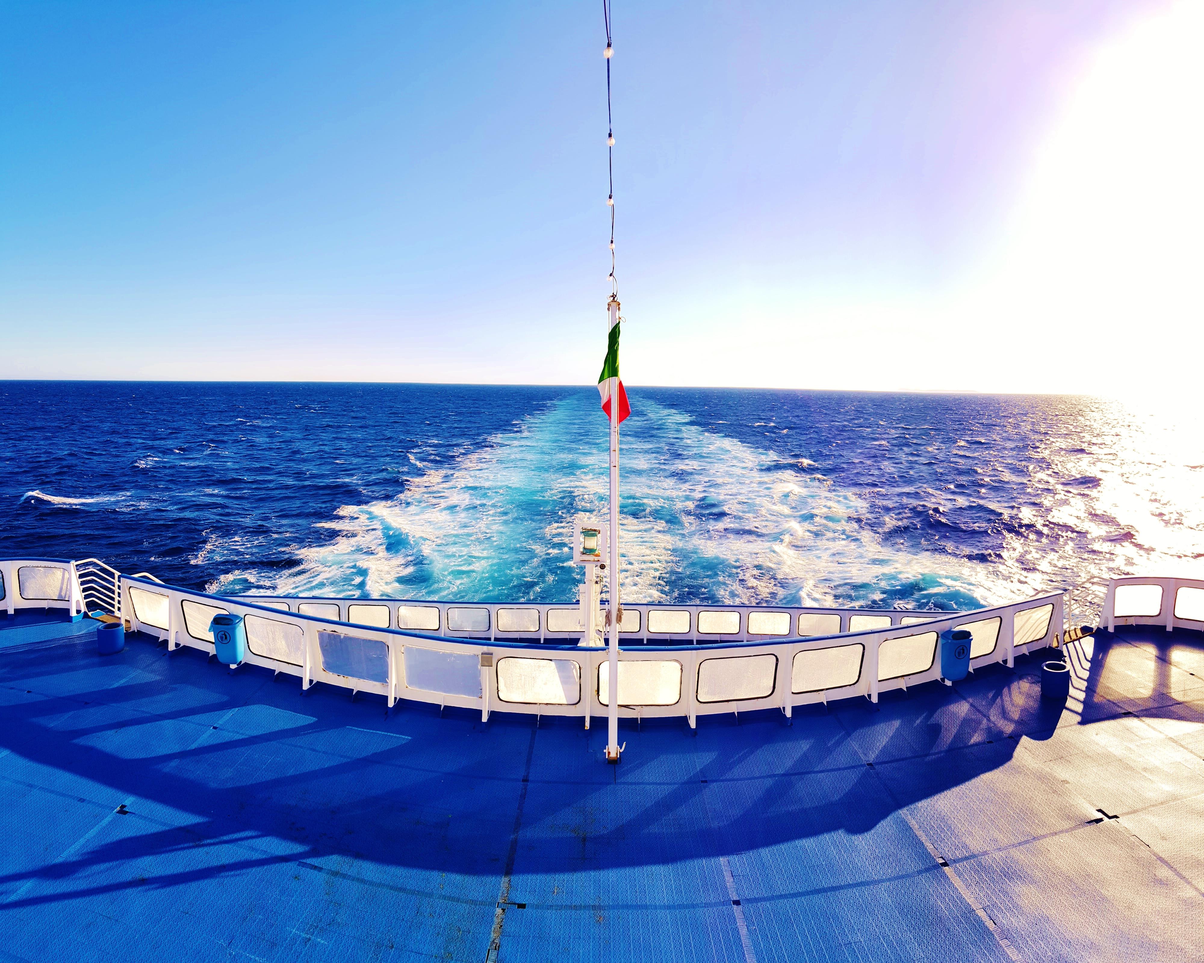Passeggero e traghetto: tra il sublime e il tempestoso