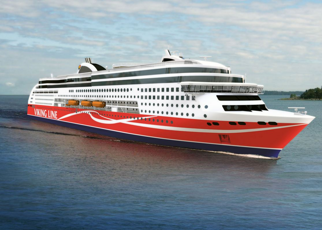 Viking Line nuovo ferry LNG in arrivo