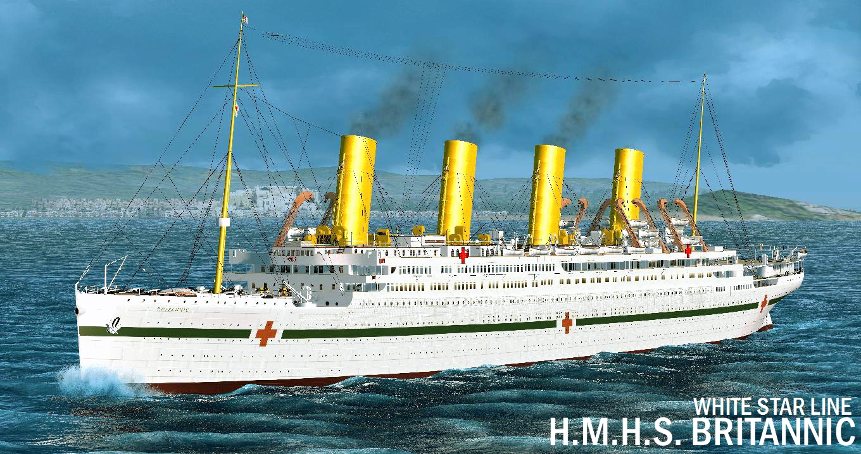 Britannic, 100 anni dall'affondamento