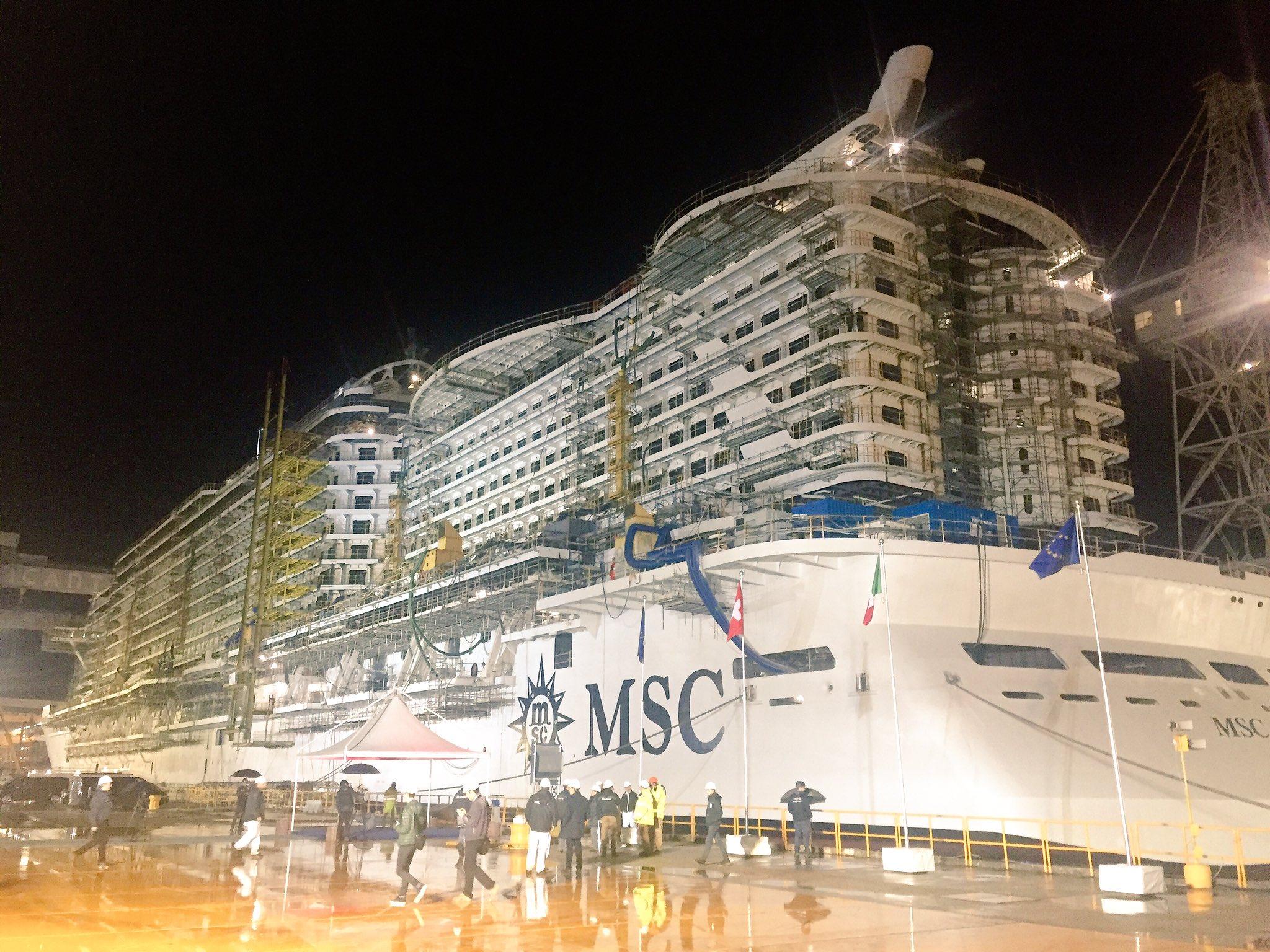 MSC SEASIDE float out