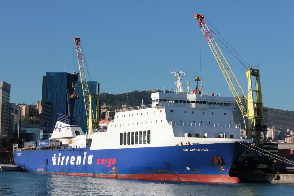 TIRRENIA: al via linea cargo GENOVA-LIVORNO-CATANIA-MALTA