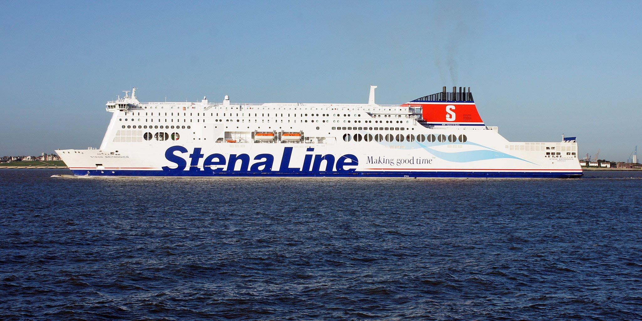 stena line 4 moderni ferry lng in arrivo pazzo per il mare. Black Bedroom Furniture Sets. Home Design Ideas